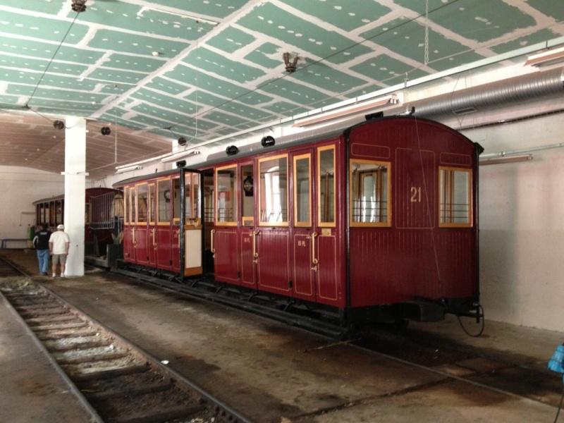 la dahu n°6 remplacé par la 8 devant la gare du montenvers Img_0313