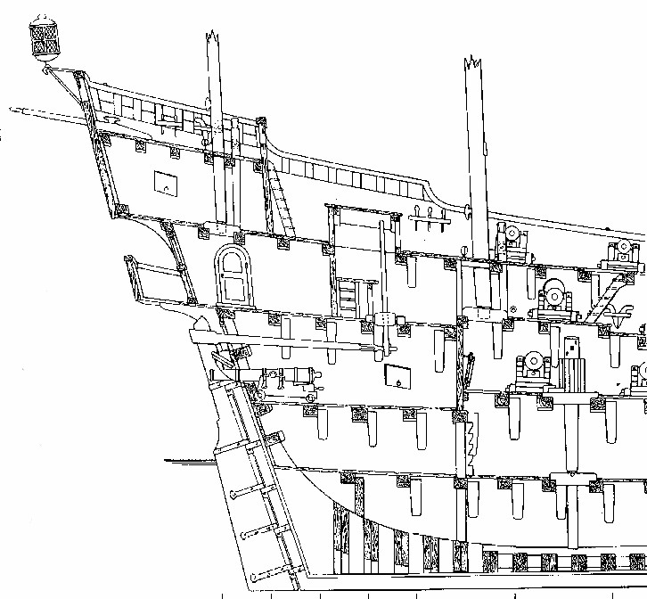 Le navi del XVII secolo  Poppa_10