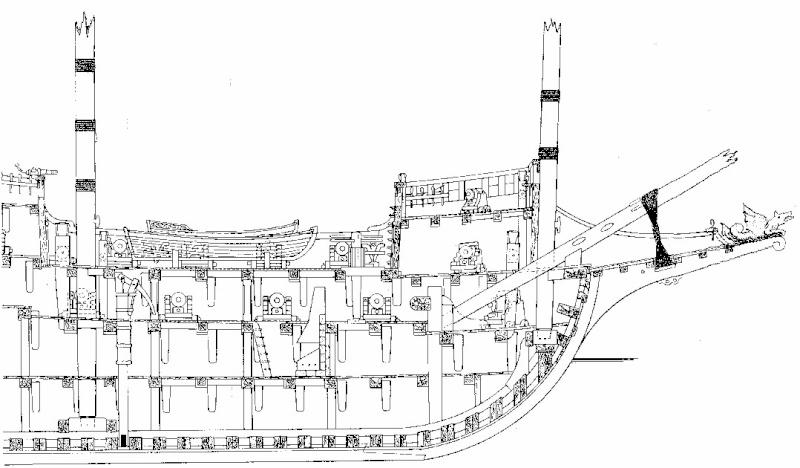 Le navi del XVII secolo  Prua_r10