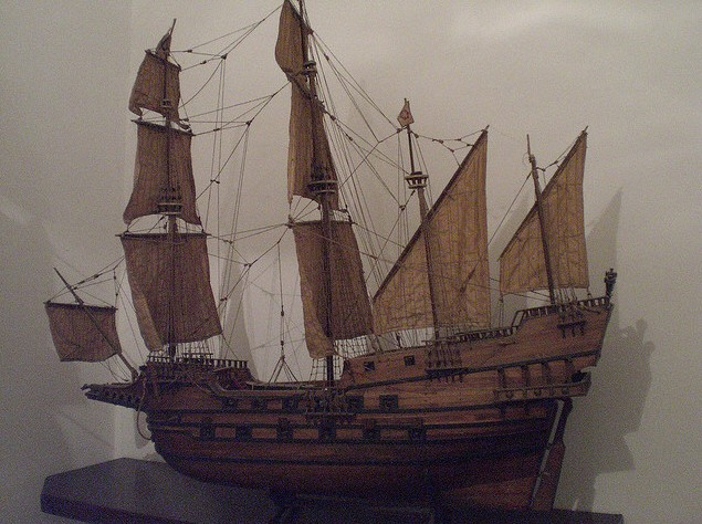 Le navi del XVII secolo  Reveng11