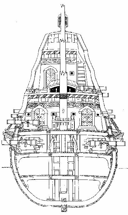 Le navi del XVII secolo  Sezion10