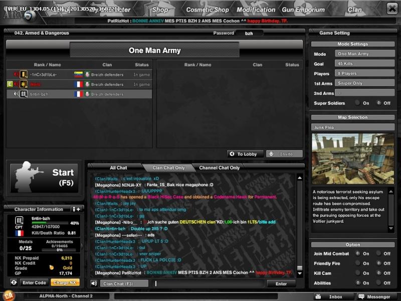 DEUX ANS <3 Combat11
