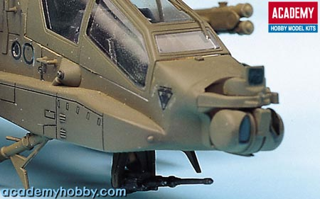 helicoptere APACHE.kit academy au 1/72 2138te11