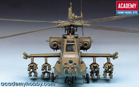 helicoptere APACHE.kit academy au 1/72 2138vo10