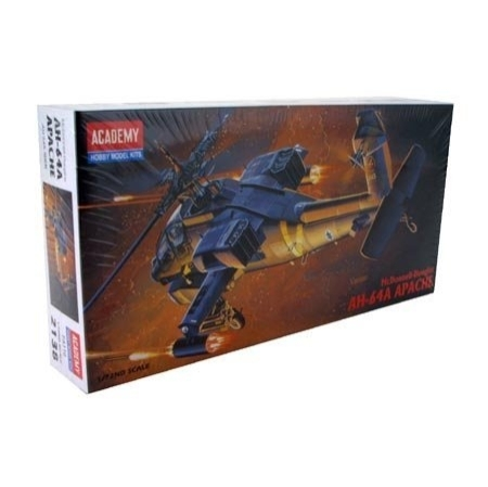 helicoptere APACHE.kit academy au 1/72 38267010