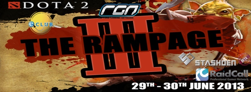 The Rampage III DotA 2 Tournament 9610