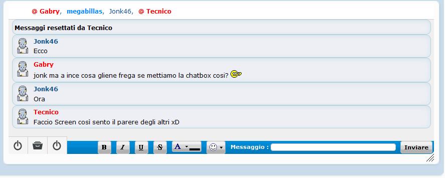 Chatbox Versione 2.5 Fsdaas10