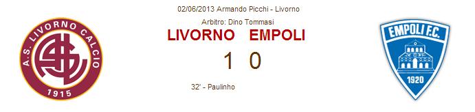 Finale di ritorno play-off: Livorno-Empoli Lia10