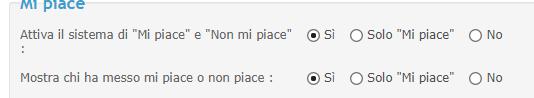 """Abilitazione """"mi piace""""  Liknli11"""