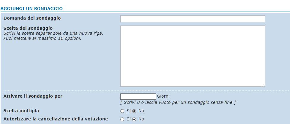 15th >>> tutorial - come fare un sondaggio- Sondag10