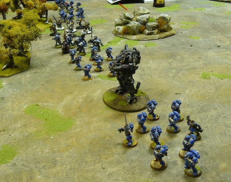 Warhammer 40K. Galerie de Batailles ! P1190533