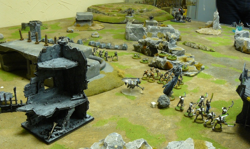 Warhammer 40K. Galerie de Batailles ! P1190534
