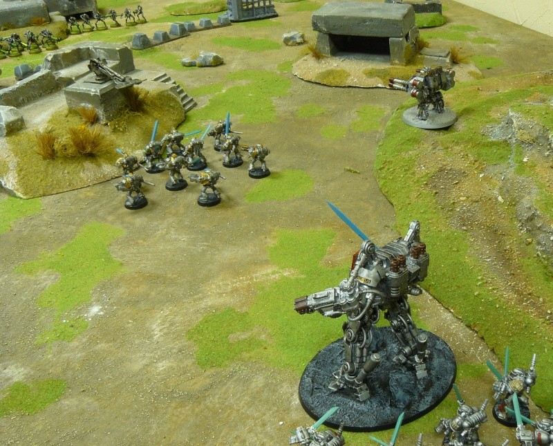 Warhammer 40K. Galerie de Batailles ! P1190535
