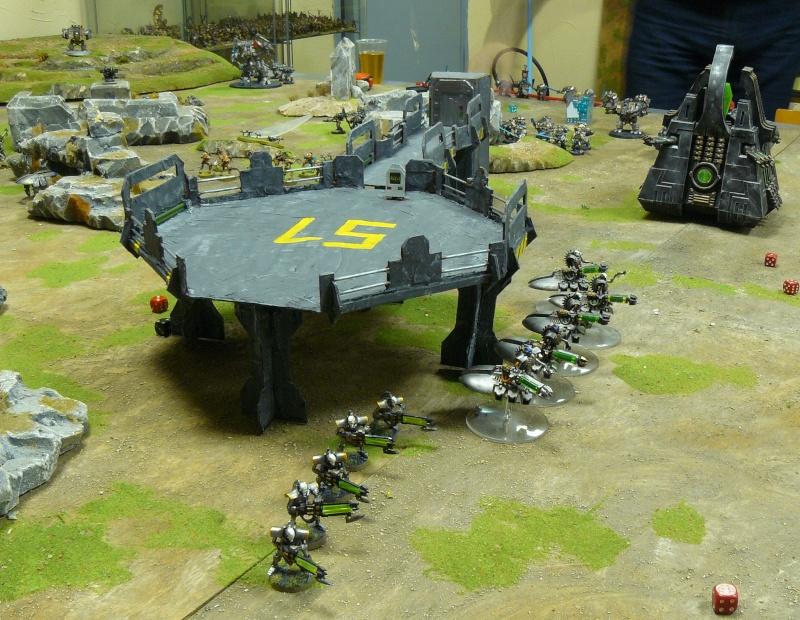 Warhammer 40K. Galerie de Batailles ! P1190536