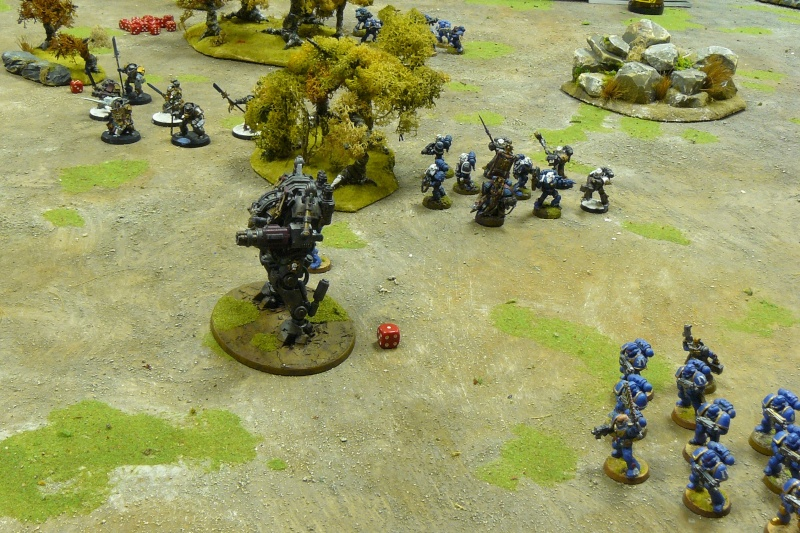 Warhammer 40K. Galerie de Batailles ! P1190537