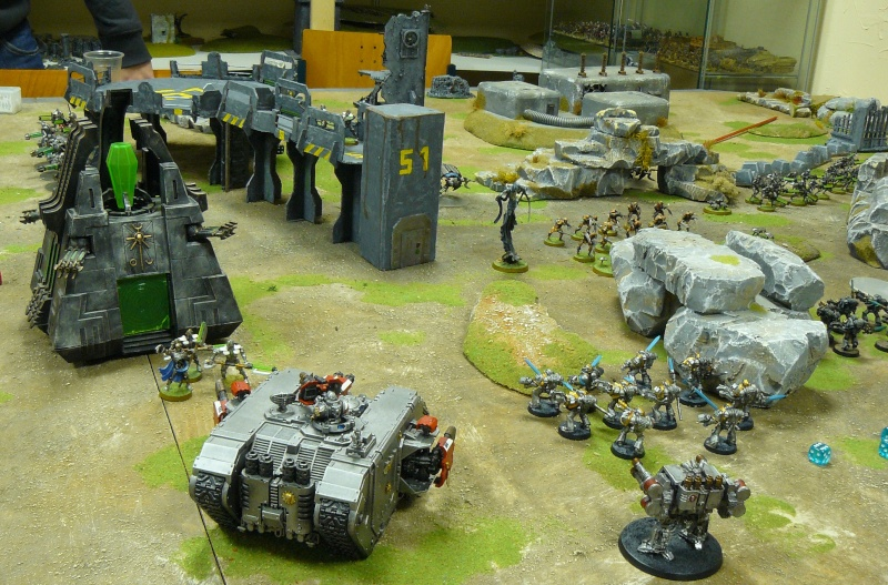 Warhammer 40K. Galerie de Batailles ! P1190539