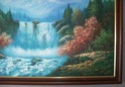 Landscape oil painting by W E Chapman? 1012