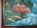Landscape oil painting by W E Chapman? 330