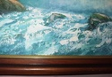 Landscape oil painting by W E Chapman? 623