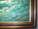 Landscape oil painting by W E Chapman? 716