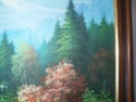 Landscape oil painting by W E Chapman? 815
