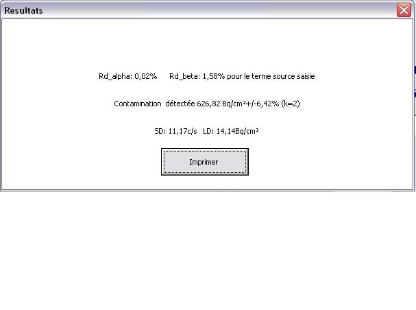 Calculer le rendement d'une sonde en fonction du radionucléide A_resu10