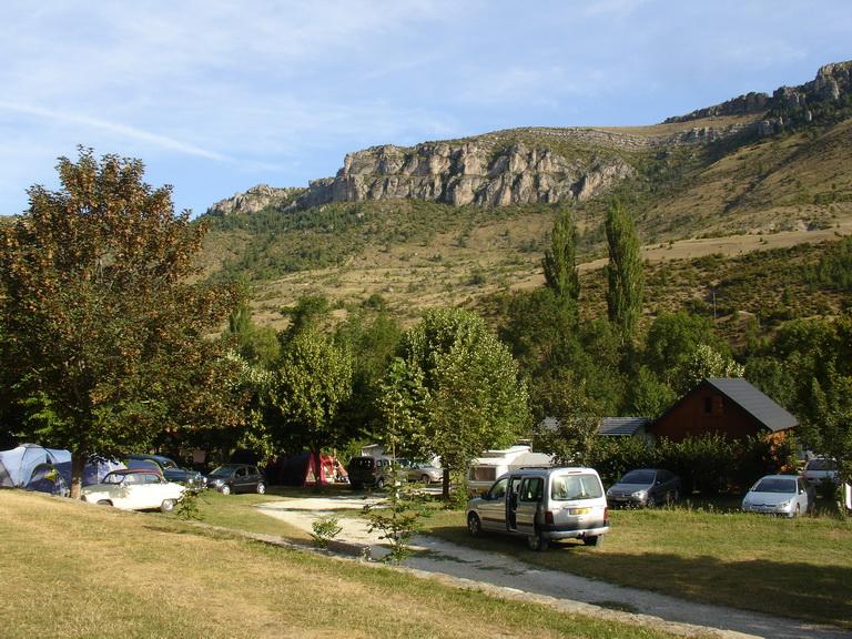 """meyrueis  lozere,camping """"la cascade"""" R2010010"""