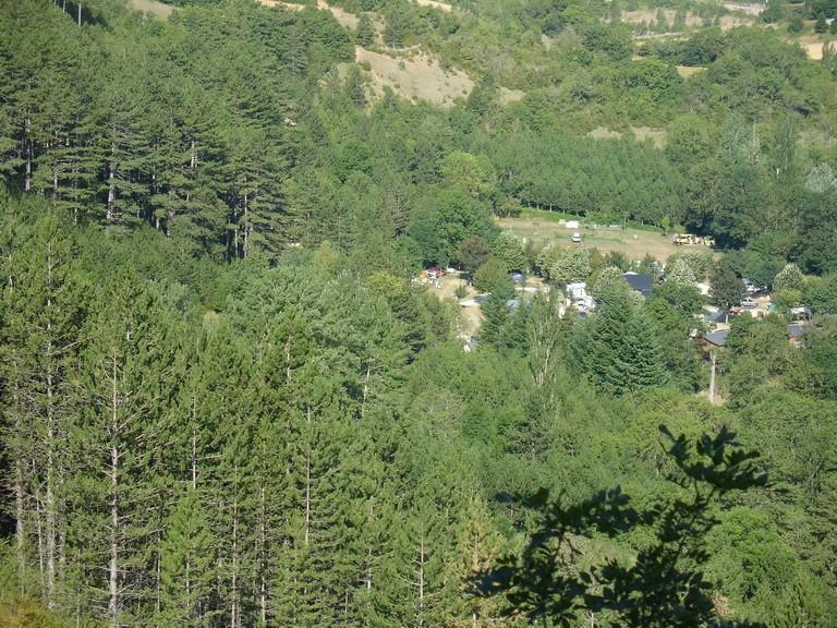 """meyrueis  lozere,camping """"la cascade"""" R2010011"""