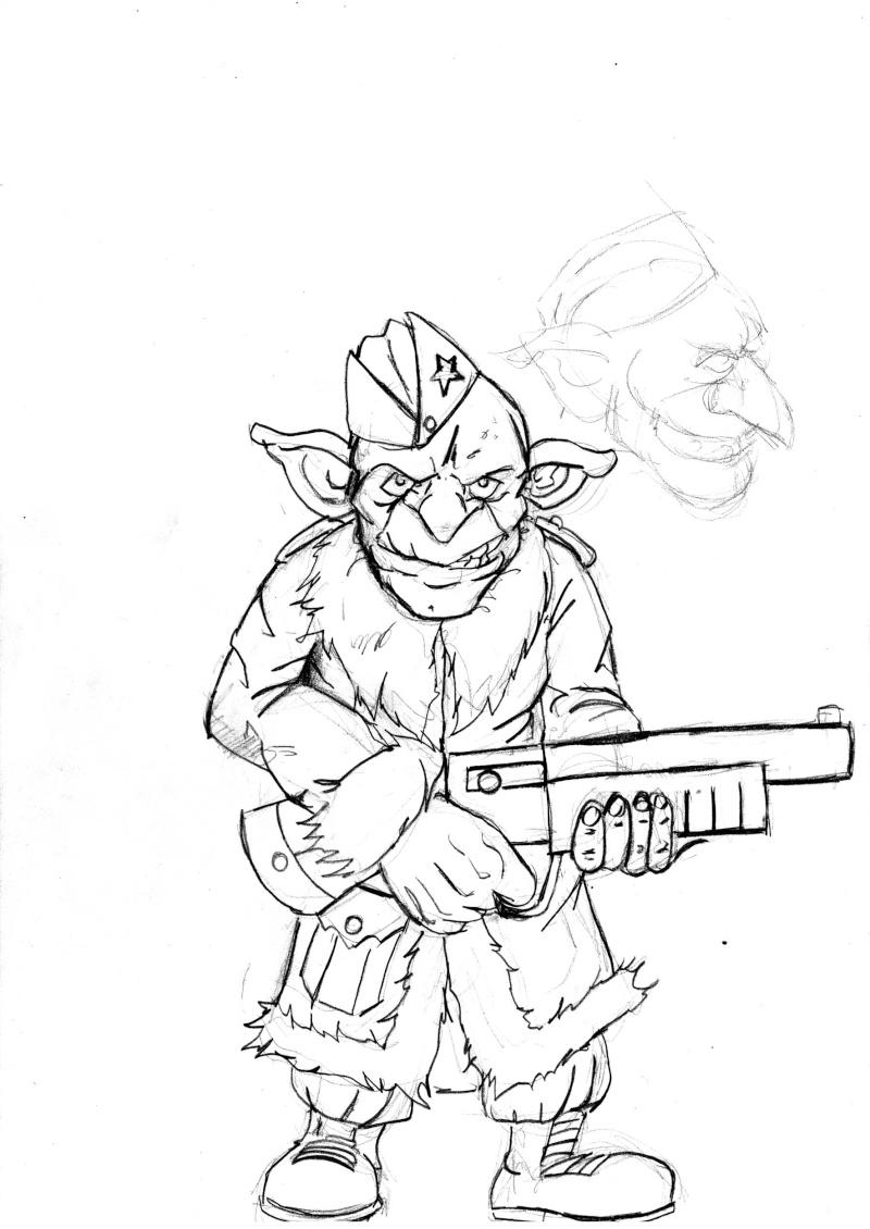 Concept et previews Gobelins Soldat10