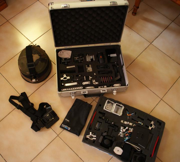 accessoires GOPRO homemade ........ Motage10