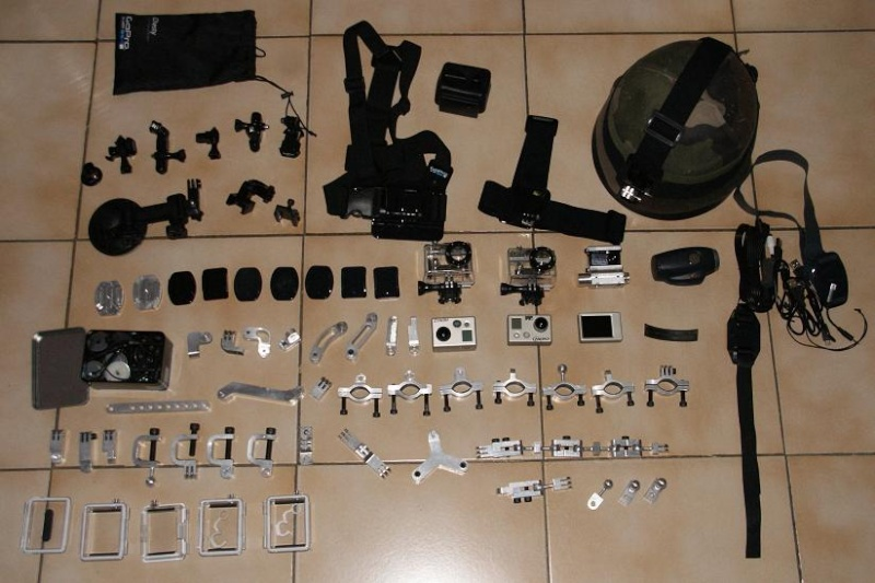accessoires GOPRO homemade ........ Motage12