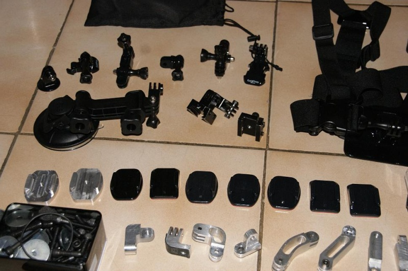 accessoires GOPRO homemade ........ Motage16