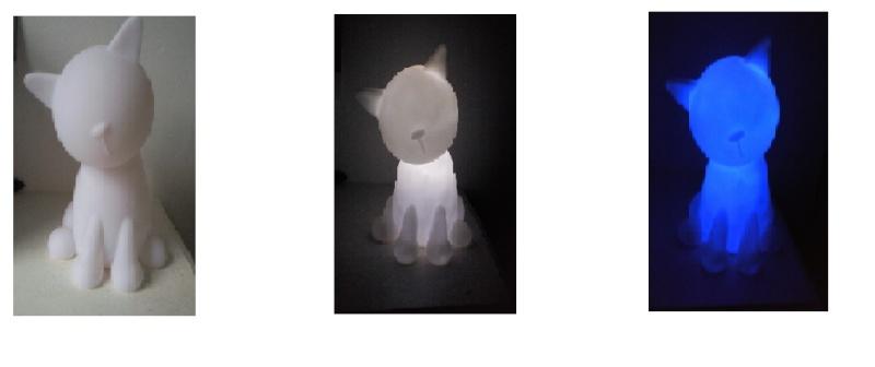 Collection d'objet sur le thème chat Chatlu10