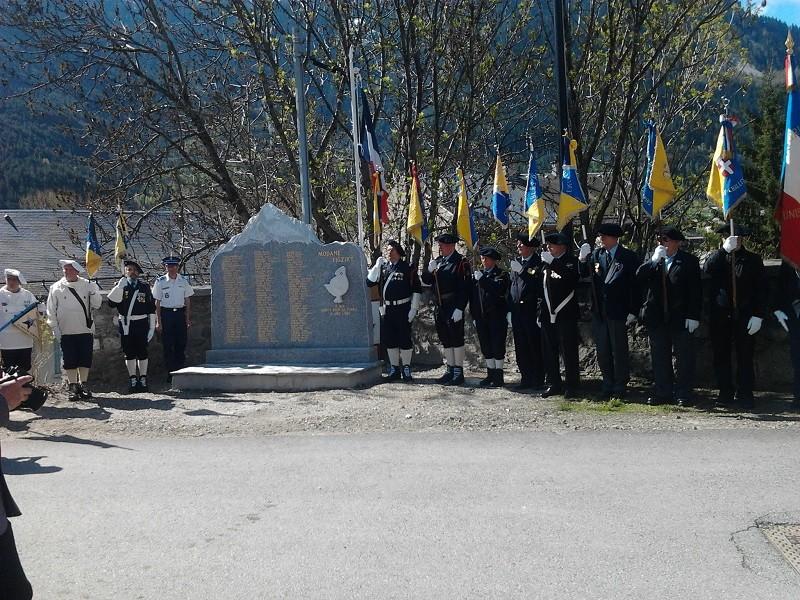 Déplacement à Modane Mémorial du 15eme BCA Photo010