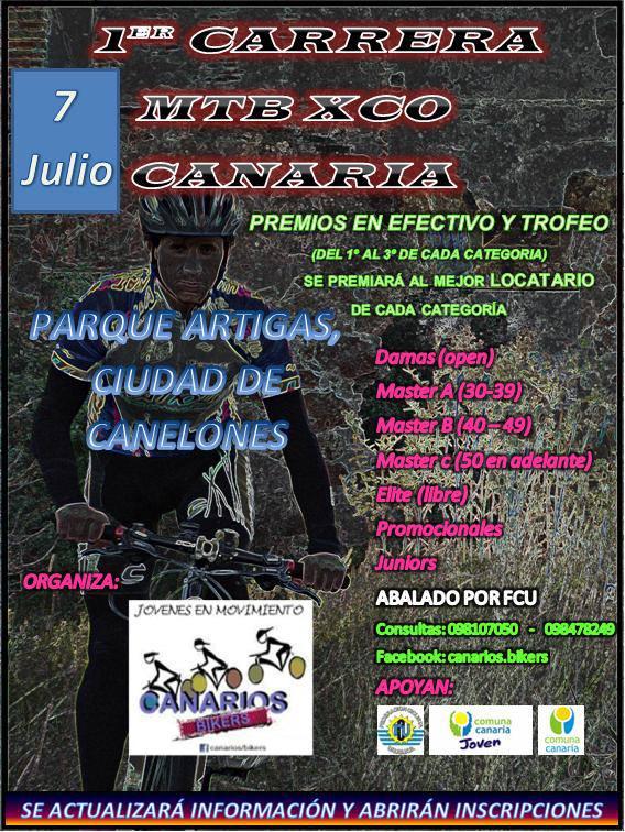 1° Carrera MTB Xco en Canaria 92302010