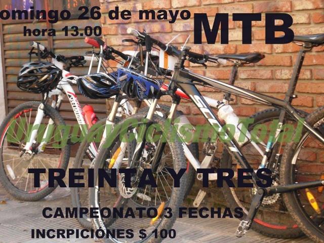 Campeonato de MTB - Treinta Tres -  93120910