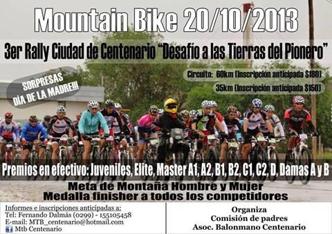 3° Rally Ciudad de Centenario. 96937210
