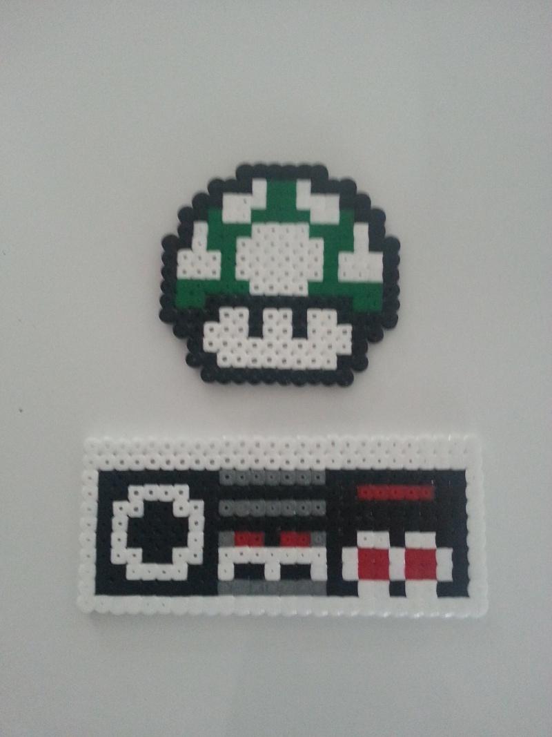 """""""Pixel Art"""" avec des perles à repasser 20130514"""