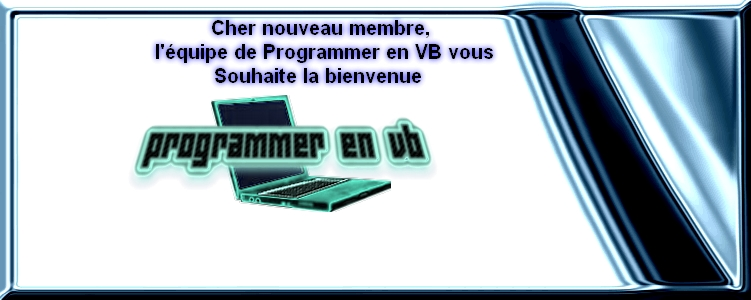 Charte du forum Programmer en VB Bienve10