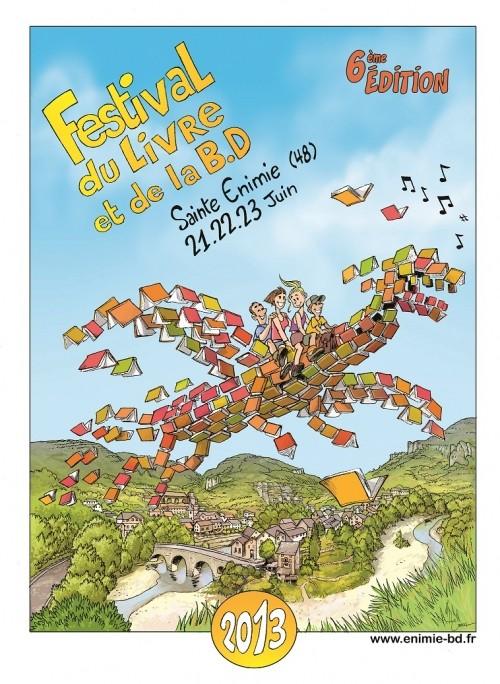 Festival du Livre de la BD SAINTE-ENIMIE (48) 22, 23 et 24 juin 2013 006_2011