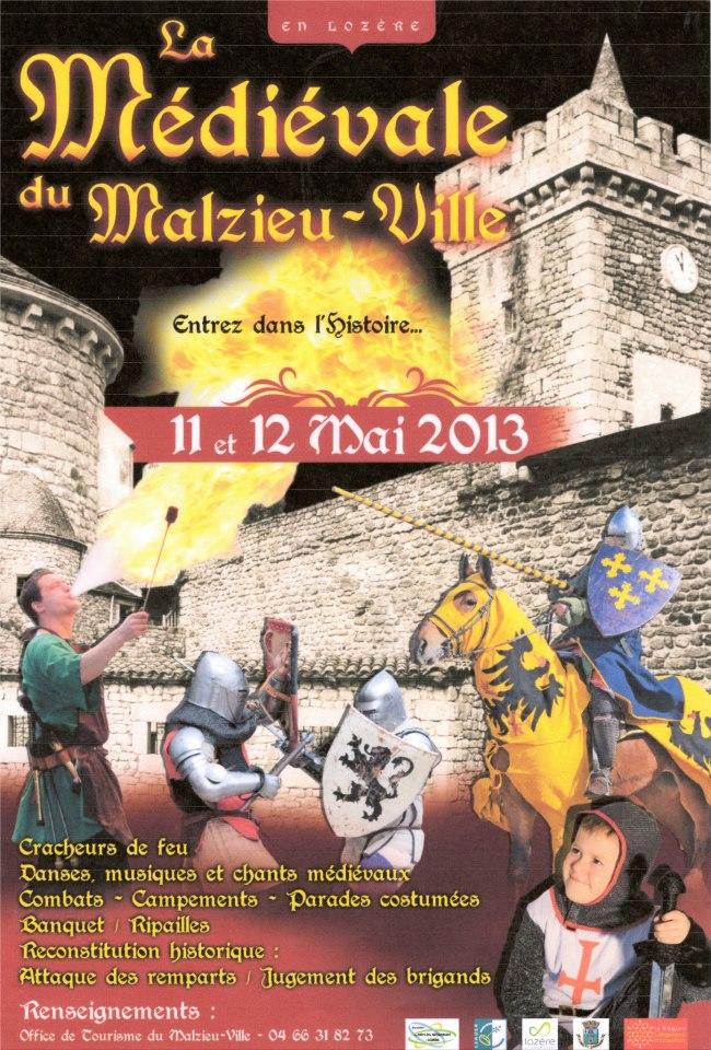 La Médiévale du Malzieu (Lozère) 11 et 12 mai 2013 La-med10