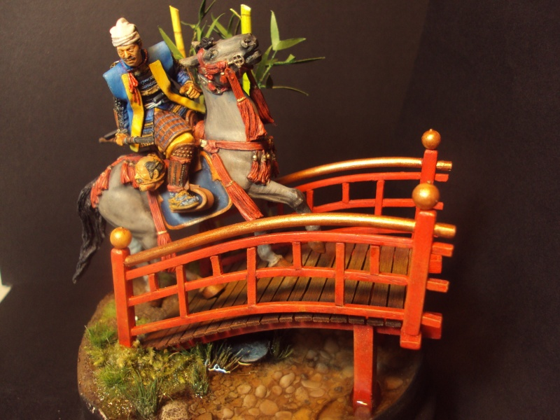 samourai a cheval 54mm 2013-012