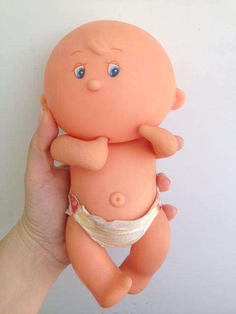 Bambolotto Tondo Rotondo Migliorati con pannolino