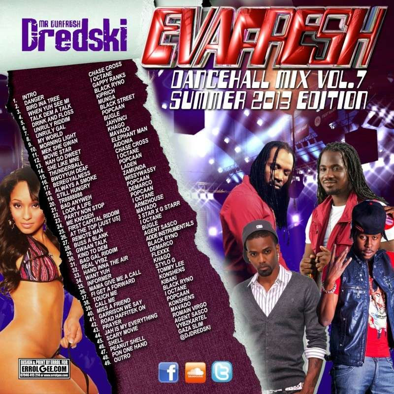 Dj Dredski - Evafresh Dancehall Mix vol.7 Dredsk11