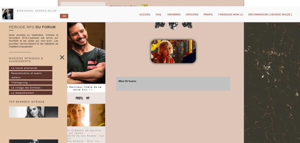 Sidebar qui empiète sur le forum Screen11