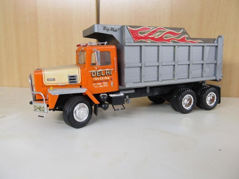 Kenworth W900 Dump Truck (Revell 07406) Maßstab 1 zu 25 Intern21