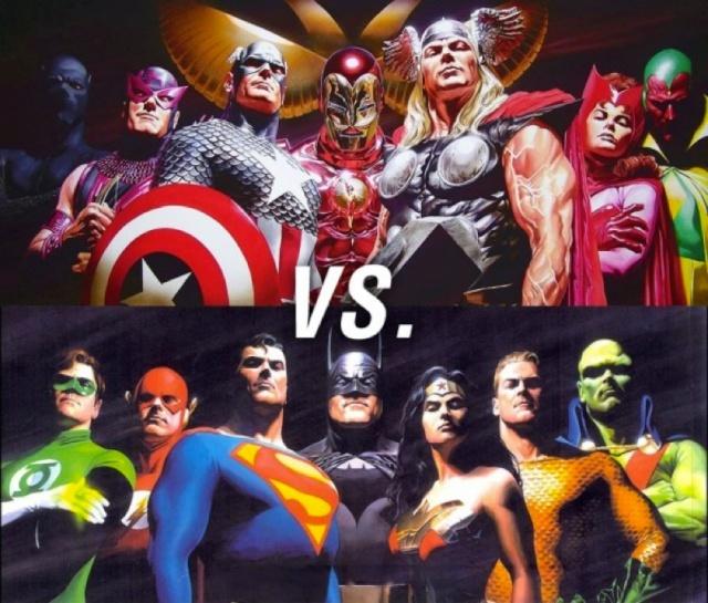 THE AVENGERS VS. JUSTICE LEAGUE - Tko bi pobijedio? 99953410