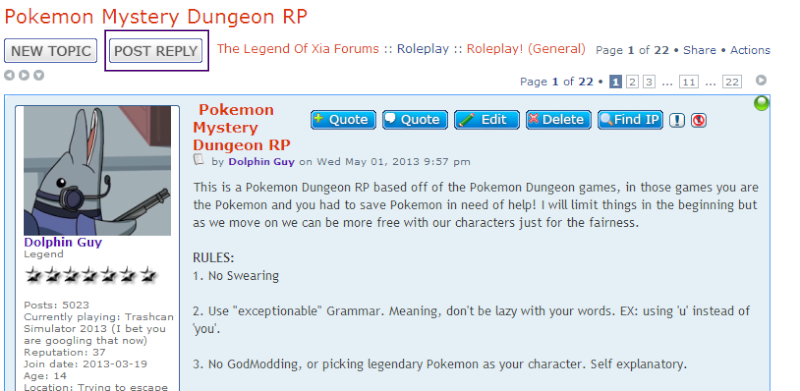 Pokemon Mystery Dungeon RP Step111
