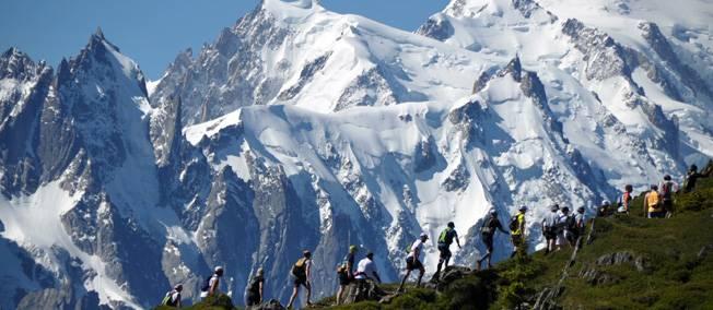 marathon - Le Marathon du Mont Blanc fait .... Le Point. Mont-b10