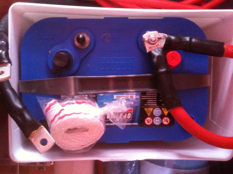 Pose et installation d'un propulseur d'étrave (Quick BTQ85DP) Img_0618